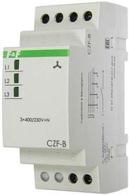 Реле контроля фаз CZF-B (3х400/230+N 8А 1перекл. IP20 монтаж на DIN-рейке) F&F EA04.001.002 | купить в розницу и оптом