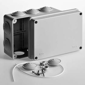 Тусо.Коробка расп. для о/п, 150х110х70мм, 10 вводов, IP55