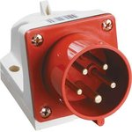 Вилка электрическая наружн. уст. 16А 3P+PE+N 380В IP44 ССИ-515 IEK PSR52-016-5