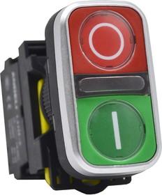 Переключатели с подсветкой (с фиксацией) LA115-A5-11XD/Y желтый 220В (ANDELI)