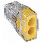 Строительно-монтажные клеммы СМК-102 2 отверстия, 1,0-2,5мм2 (ANDELI)