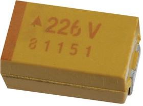 TPSE476K035T0200V, Surface Mount Tantalum Capacitor, 47 мкФ, 35 В, 2917 [7343 Метрический], TPS Series, ± 10%, -55 °C