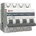 Выключатель автоматический модульный 4п C 32А 4.5кА ВА 47-63 PROxima EKF ...