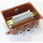 Коробка У614А УХЛ1.5 с латунными сальниками ЗЭТА zeta30321