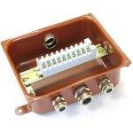 Коробка У615А УХЛ1.5 с латунными сальниками ЗЭТА zeta30323