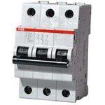 Выключатель автоматический модульный 3п C 50А 4.5кА SH203L ...