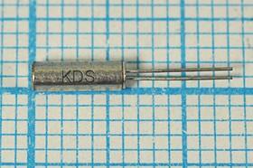 кварцевый резонатор часовой 32.768кГц в цилиндрическом корпусе 2x6мм, нагрузка 7пФ, 32,768 \02x06\ 7\ 20\\DT-26\1Г (KDS)