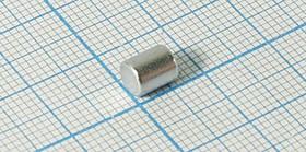 Фото 1/2 Магнит цилиндрический 5x 6.5мм 14720 магнит 5,0x 6,5\цилиндр\\Ni\N35\