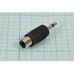 Переходник штекер Audio Jack моно 3.5мм на RCA, № 966 шт 3,5моно-гн RCA\2C[Ni]\\ ...