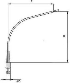 Кронштейн К1К-0.5-0.5-0.075-0.048 гор. цинк Пересвет В00000835