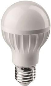 Фото 1/2 Лампа светодиодная 71 647 OLL-A60-7-230-2.7K-E27 7Вт грушевидная 2700К тепл. бел. E27 525лм 176-264В ОНЛАЙТ 71647