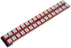 Neopixel stick 16x2 SK, Две линейки из 16-ти светодиодов Neopixel SK6812
