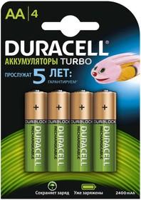 Фото 1/2 Аккумулятор HR6-4BL 2400мА.ч предзаряженные (блист.4шт) Duracell Б0014863