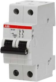Выключатель автоматический модульный 2п C 10А 6кА SH202 ABB 2CDS212001R0104