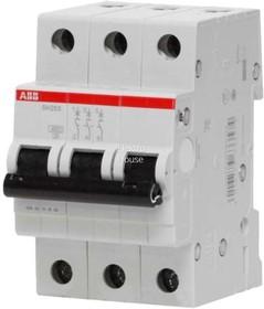 Выключатель автоматический модульный 3п C 16А 6кА SH203 ABB 2CDS213001R0164