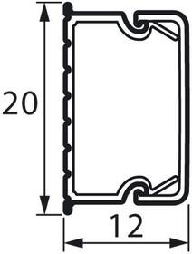 Кабель-канал 20x12мм