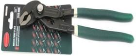 Пассатижи переставные сантехнические с кнопкой фиксации Cr-V 7 -175мм, RF-613U175