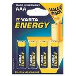 4103 (A286/LR03/AAA), Элемент питания алкалиновый ENERGY (4шт) 1.5В
