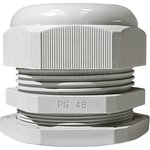 PG-48, Ввод кабельный белый, нейлон 6.6, IP54