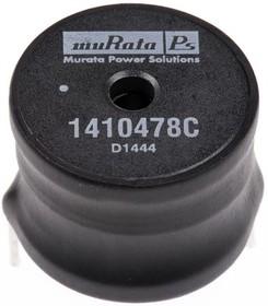 Фото 1/2 1410478C, Inductor General Purpose Bobbin Core 100uH 10% 1KHz 34Q-Factor 7.8A 40mOhm DCR RDL Carton