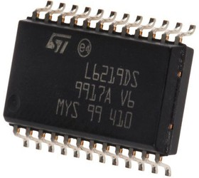 E-L9823013TR, OCTAL LOW-SIDE DRIVER 0.5A SPI SOIC24