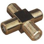 Соединитель x4 гнезда F (F-крест) PROCONNECT 05-4205-4