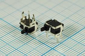 Фото 1/2 Микропереключатель 30В/0.1А, концевой выключатель; № 9239 ПКонц 6,3x 3,7x 8,5\ 30\ 0,1\OFF-(ON)\\H9,5\\лев