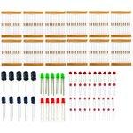 20 in 1!Basic components mixed pack, Базовый набор компонентов для Arduino проектов