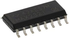 Фото 1/2 MAX232ID, Двухканальный приемопередатчик интерфейса RS-232, [SOIC-16]