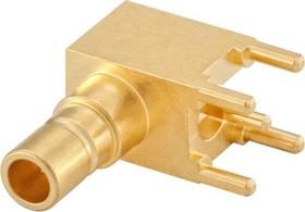 59S225-400L5, SMB 50 OHM RIGHT ANGLE PLUG PCB