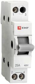 Переключатель трехпозиционный 1п 63А Basic EKF tps-1-63
