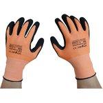 Перчатки SCAFFA DY1350S-OR/BLK, размер 10