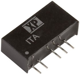 ITA1205S, DC/DC CONVERTER ISOLATED +/-5V 1W