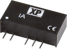 IA1224S, DC/DC CONVERTER ISOLATED +/-24V 1W