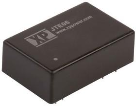 JTE0624D03, DC/DC CONVERTER ISOLATED +/-3.3V 6W