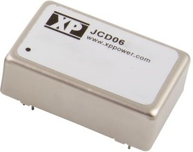 JCD0624D24, DC/DC CONVERTER ISOLATED +/-24V 6W