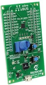 DM164140, Оценочная плата, MPLAB Xpress, микроконтроллер PIC16F18855