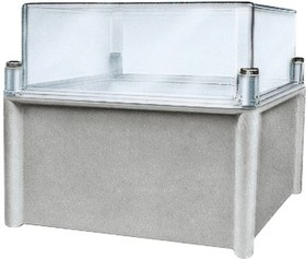 NSYPLS3654G, ENCLOSURE W/ CLEAR COVER 360X540X180MM