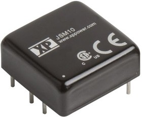 JSM1012D15, DC/DC CONVERTER ISOLATED +/-15V 10W