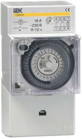 Таймер аналоговый ТЭМ-181 16А 230В на DIN-рейку ИЭК MTA20-16
