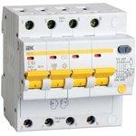 Выключатель автоматический дифференциального тока 4п C 63А ...