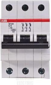 Выключатель автоматический модульный 3п C 25А 6кА SH203 ABB 2CDS213001R0254