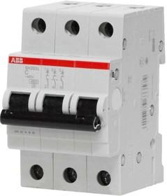 Выключатель автоматический модульный 3п C 63А 6кА SH203 ABB 2CDS213001R0634