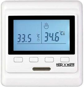 Фото 1/2 Термостат прогр. HW-500 дисп. датчик пола; датчик возд. 3.6кВт 16А бел. Grand Meyer HW-500