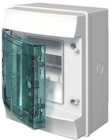 Фото 1/3 Бокс настенный Mistral65 4М прозр. дверь ABB 1SL1200A00