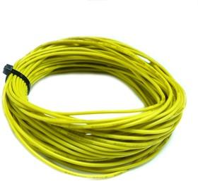 Провод силиконовый 22AWG 0,35 мм кв 10 м ( желтый)