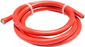 Провод гибкий медн. луж AWG 8 мм кв 1 м (красный)