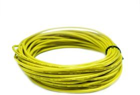Провод силиконовый 18AWG 0,75 мм кв 10 м ( желтый)