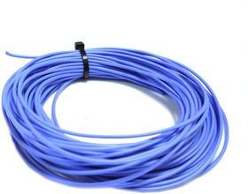 Провод силиконовый 24AWG 0,2 мм кв 10 м (синий)