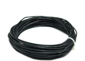 Провод силиконовый 24AWG 0,2 мм кв 10 м (черный)